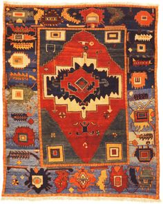 Turkish Tribal Rugs | Early Azeri from Woven Legends