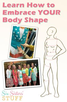 Learn how to embrace your body shape and how to dress it with ChicOnAShoestring.com. #bodyimage #beauty #fashion