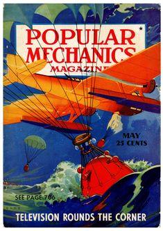 Science Magazine, Popular Mechanics, Pulp Art, Cover Art, Science Fiction, Sci Fi, Movie Posters, Laos, Gallery