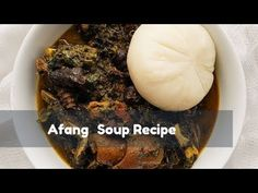 Hi Lovelies, I'm bringing you a delicious vegetable soup from Akwa Ibom State in Nigeria. The popular Afang Soup or Okazi Soup (Ibo name) is easy to cook and. Nigerian Soup Recipe, Fish Stock, Stuffed Shells, Soup Recipes, African, Make It Yourself, Vegetables, Cooking, Ethnic Recipes