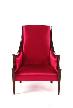 Sensuality Armchair buy at Treniq. Luxury, silk, red and retro chic armchair. Deco Furniture, Luxury Furniture, Outdoor Chairs, Outdoor Furniture, Outdoor Decor, Bat Eyes, Table Accessories, Retro Chic, Club Chairs