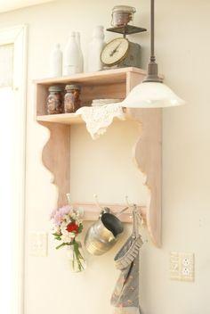 Image of Lil Bit 'a Pink - Farmhouse Shelf