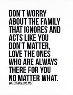 Family can be the most fake people. It's amusing how miserable someone can be, and boy it's true, it sure does need company because they'll make sure you're miserable as well.