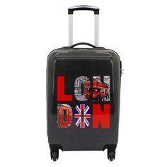 #Handgepäck F23 Voyage London bei Koffermarkt: ✓Hartschalen-Koffer aus ABS-Polycarbonat ✓4 Rollen ✓Integriertes Zahlenschloss ⇒Jetzt kaufen