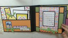 CCC Photoplay Those Summer Days Album & Tutorial