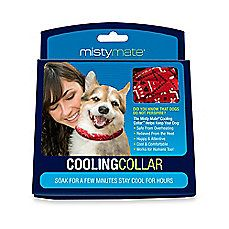 image of Misty Mate® Cooling Collar™ in Red/Blue