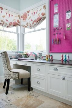 Hot Pink Pegboard