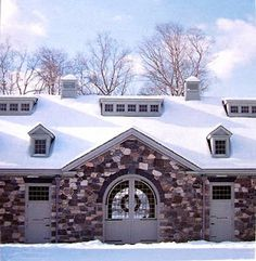 Once called Sycamore Farms, Martha's property was first settled in 1784 and is known locally, today, as Cantitoe Corners. Horse Barns, Old Barns, Horses, Sycamore Farms, Equestrian Stables, Dream Barn, Dream Stables, Shed Dormer, Old Shutters
