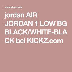 404e2f5132deea jordan AIR JORDAN 1 LOW BG BLACK WHITE-BLACK bei KICKZ.com