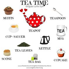 เรียนภาษาอังกฤษ ความรู้ภาษาอังกฤษ ทำอย่างไรให้เก่งอังกฤษ  Lingo Think in English!! :): คำศัพท์ภาษาอังกฤษน่ารู้เกี่ยวกับ Tea ชา