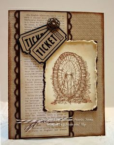 Feeling Sentimental by Stampin' Up. Tickets wheel.