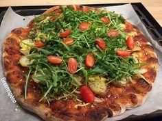 Potato pizza vegan