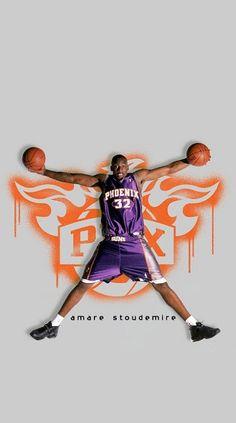 Amar'e Stoudemire, Phoenix Suns, Nba, Basketball, Netball