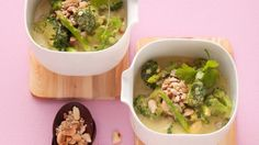 Spargel-Kokoscurry mit Brokkoli |
