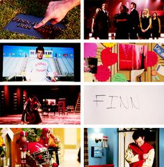 Glee I'm literally crying right now I'll miss him forever