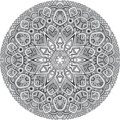 Mandala drawing 20 by Mandala-Jim.deviantart.com on @deviantART