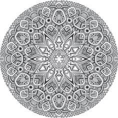 Mandala drawing 20 by Mandala-Jim.deviantart.com on @deviantART