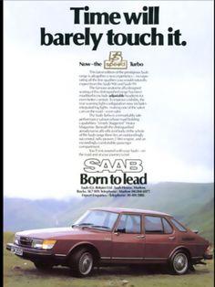 Vintage 1980 Saab 900 Advertisement