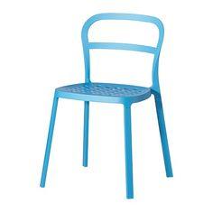 REIDAR Silla - azul  - IKEA