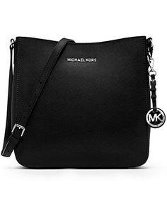 MICHAEL Michael Kors Handbag, Jet Set Travel Large Saffiano Messenger Bag - Handbags & Accessories - Macy's