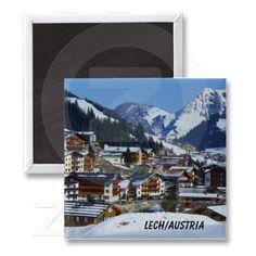 Shop Lech in Austria am Arlberg Souvenir Magnet created by stdjura. Austria, Switzerland, Winter, Photography, Souvenir, Magnets, Winter Time, Photograph, Fotografie