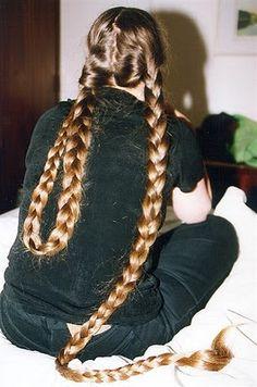 Very Long Braids Cute Girls Hairstyles, Down Hairstyles, Braided Hairstyles, Wedding Hairstyles, Beautiful Braids, Beautiful Long Hair, Natural Hair Styles, Long Hair Styles, Super Long Hair