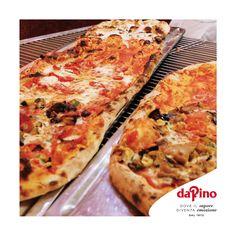 """Avete già provato la nostra #pizzalonga? Pensata per un momento di condivisione tra amici e parenti, la speciale pizza da Pino viene proposta anche nei formati """"mezzo metro"""" (due quarti) e """"metro"""" (quattro quarti). E potete scegliere il vostro gusto preferito ogni quarto di metro tra tutte le pizze presenti nel nostro menù!"""