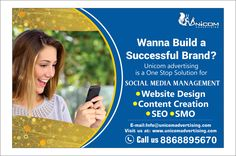 Unicom Advertising: Advertising Agency in India Email Marketing, Content Marketing, Internet Marketing, Social Media Marketing, Digital Marketing, Brand Advertising, S Mo, Web Design, Ads