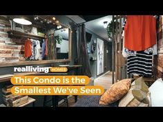 Country chic meets industrial in the smallest condo we've ever seen Condo Interior Design, Condo Design, Real Living Magazine, Small Condo, Cool Diy Projects, Country Chic, Tiny Homes, Decorating Tips, House Tours