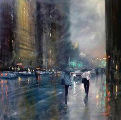 Late Rain - Waymouth Street    byMike Barr