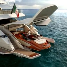 Most Beautiful & Luxurious Superyachts - THE FUTURE SUPERYACHTS | WATCH NOW ! Top Luxury Cars, Luxury Suv, Luxury Life, Luxury Living, Yatch Boat, Catamaran, Sport Fisher Yachts, Mechanical Engineering Design, Cool Boats