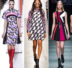 Fall/ Winter Print Trends: Graphic Op-Art Patterns Source by leathercordusa 2016 fashion Springer Spaniel, Curvy Women Fashion, Womens Fashion For Work, Op Art, Fall Fashion 2016, Autumn Fashion, Fall Dresses, Dresses For Work, Living At Home