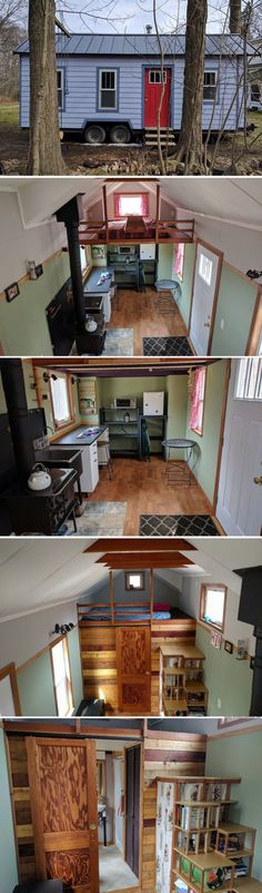 The Working Class Tiny House (180 sq ft)