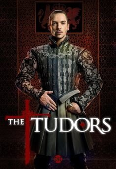 This is a poster from the TV drama about Henry the 8th entitled The Tudors. While it does not directly relate to the Anglo-Saxon time period the show does remind me of it due to the setting.