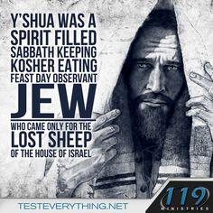 Yeshua! - (And then He sent His Apostles and Disciples into ALL the world so…