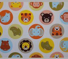 Safari Animal Circles - Natural Colors - Kiyohara / Kawaii Fabrics / Japanese Fabrics / Fabrics for Kids / Children's Fabric / Animal Fabric / Zoo Fabric    https://www.maigocute.com/collections/japanese-fabric/products/safari-animal-circles-natural-canvas-kiyohara-japanese-fabric