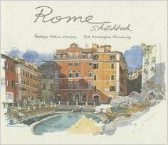 原版現貨 Rome Sketchbook 羅馬 建築風景水彩速寫城市寫生