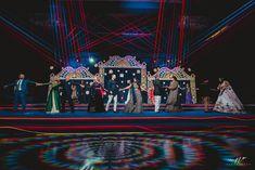 Floral Backdrop, Floral Garland, Indian Wedding Stage, Wedding Designs, Wedding Ideas, Wedding Stage Decorations, Floral Chandelier, Classic Theme, Wedding Planning Websites