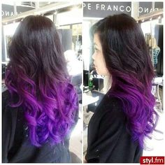 ombre purple hair - Google Search