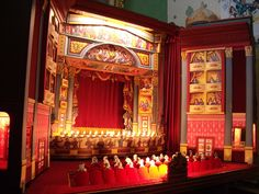 Interesting fold out paper theater - Interior of Buxton Opera Househttp://puppetlady.files.wordpress.com/2011/10/imgp0816.jpg