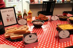 Mickey & Minnie Mouse party Birthday Party Ideas | Photo 4 of 32 | Catch My Party