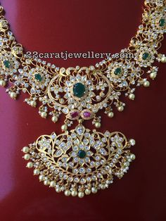 Silver Metal Pachi Work Trendy Necklaces Latest Collection of best Indian Jewellery Designs. Sterling Silver Jewelry, Gold Jewelry, Beaded Jewelry, Handmade Jewelry, Clay Jewelry, Silver Bracelets, Bangle Bracelets, Jewlery, Fine Jewelry