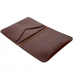 Passport Wallet - Ox Blood Horween� Chromexcel� HF Leather