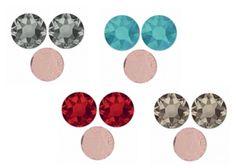 Strass Hotfix Swarovski à dos thermocollant. Collez les à l'aide de l'outil Kandi Kane pour une application très précise ou au fer à repasser. Retrouvez ces 4 coloris : Greige, Light Siam, Caribbean Blue Opal, Black Diamond à partir d'1,85€ >>> http://www.perlesandco.com/20382078_Hotfix_3_mm-c-2629_101_436_2124_1095.html