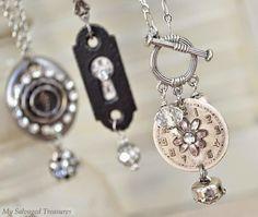 My Salvaged Treasures: {My Jewelry Creations}