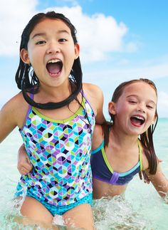 Summer's almost here! Hit the beach in our favorite swim for her - kid tested and mom approved. Take a look at prints and patterns she's sure to love.