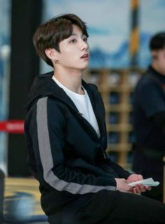 Read Chapter 11 from the story My Omega Boss- jikook by Obssessedfan with reads. The above picture shows what Jungkook is weari. Foto Jungkook, Foto Bts, Taehyung, Vlive Bts, Kookie Bts, Jungkook Cute, Jungkook Oppa, Bts Bangtan Boy, Namjoon