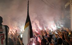 Atletico-Mineiro's crowd welcomed players!!!