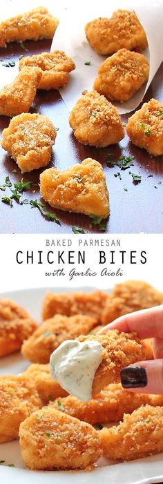 These Baked Parmesan Chicken Bites are so delicious and ridiculously easy. With only 5 ingredients, how can you not try these bad boys out?!