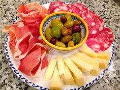 Antipasto misto only products made in Italy